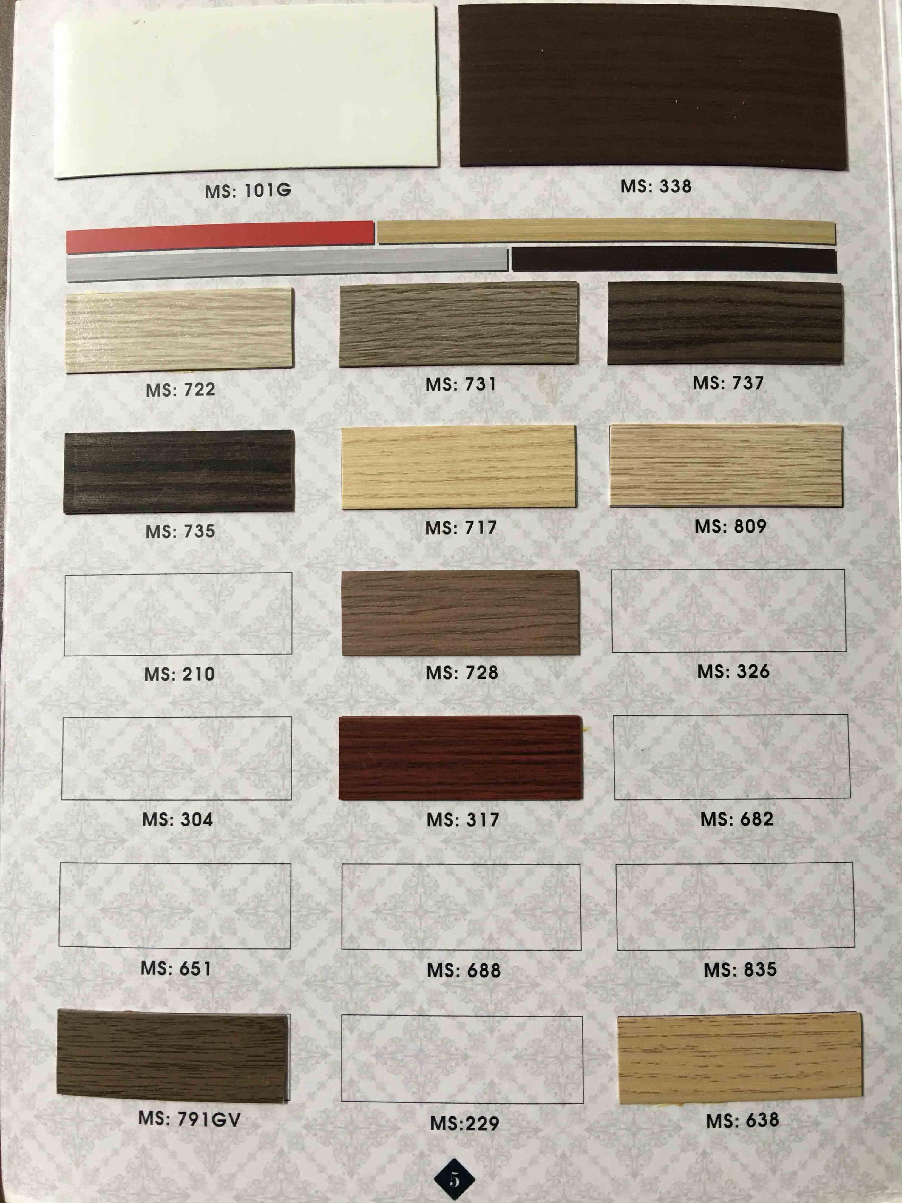 Catalogue nẹp chỉ vân gỗ - 03