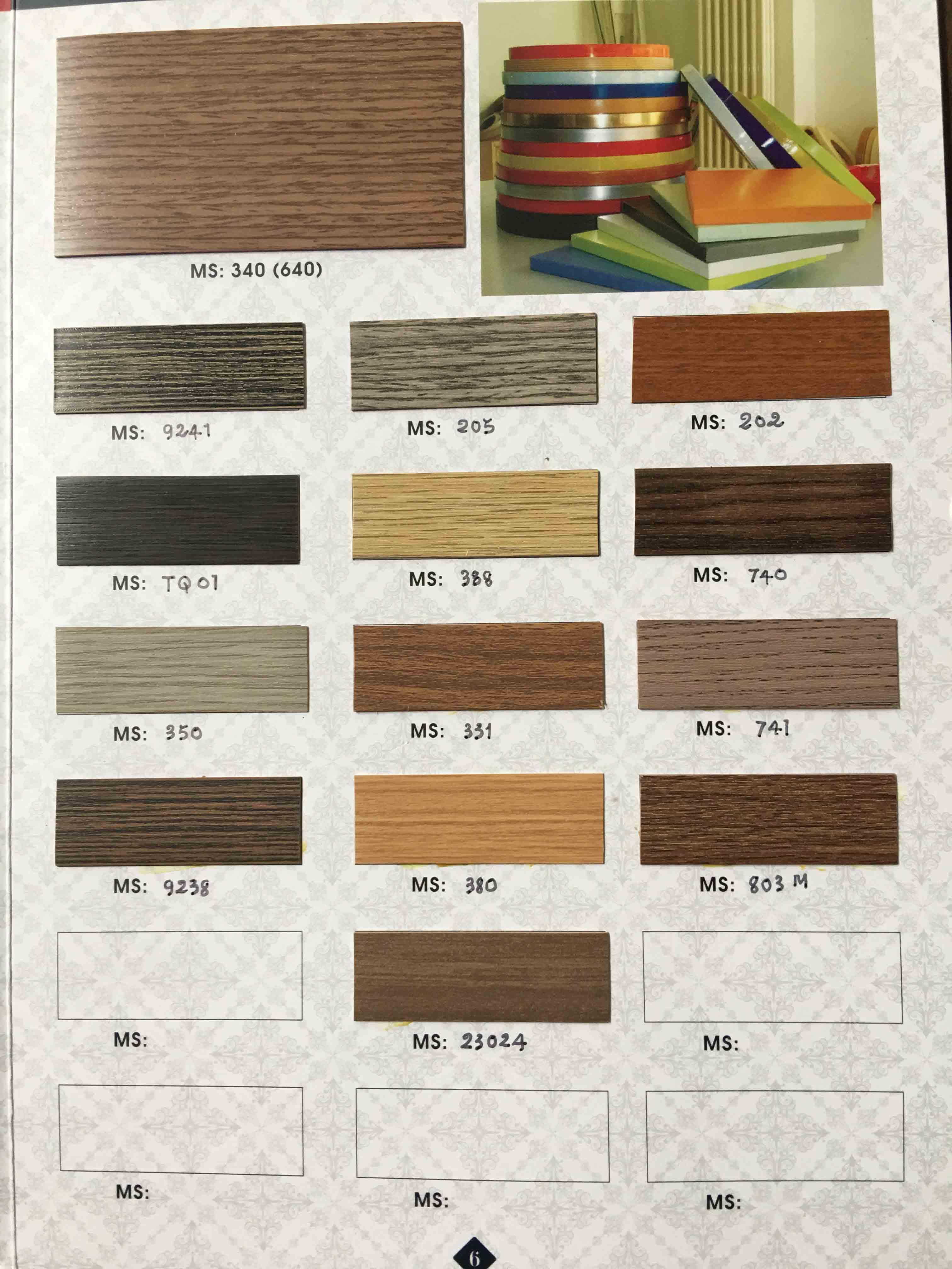 Catalogue nẹp chỉ vân gỗ - 04